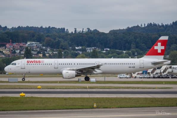 HB-IOM - A321 - Swiss