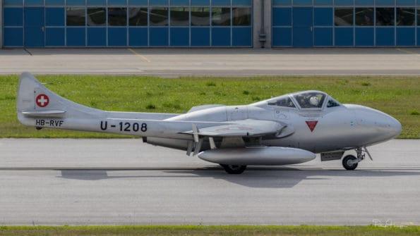 HB-RVF - DH-115 Vampire