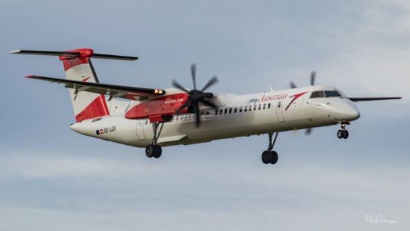 OE-LGK - DHC-8 Dash 8 - Austrian