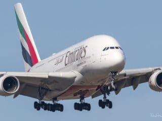 A6-EUB - Airbus A380 - Emirates