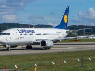D-ABEE - Boeing 737 - Lufthansa