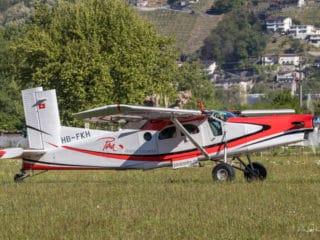 HB-FKH - Pilatus Turbo Porter PC-6 - Para Locarno