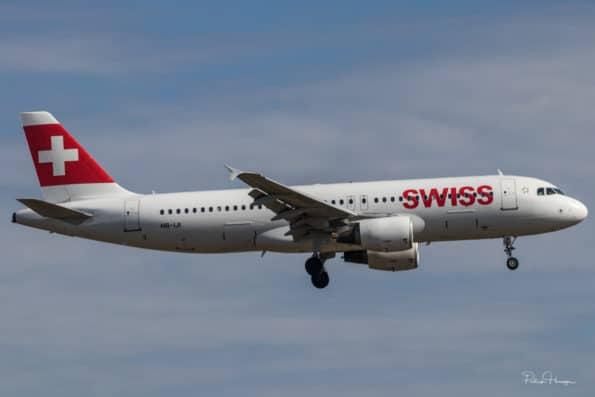 HB-IJI - Airbus A320 - Swiss