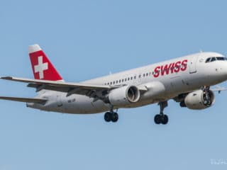 HB-IJP - Airbus A320 - Swiss