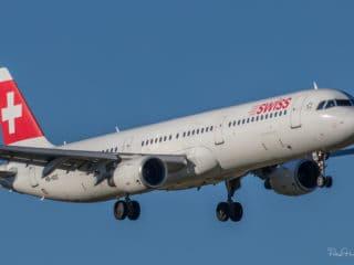 HB-IOC - A321 - Swiss