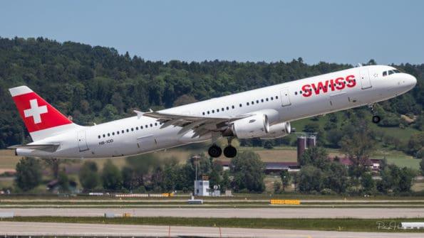 HB-IOD - Airbus A321 - Swiss