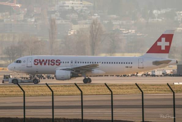 HB-IJF - A320 - Swiss
