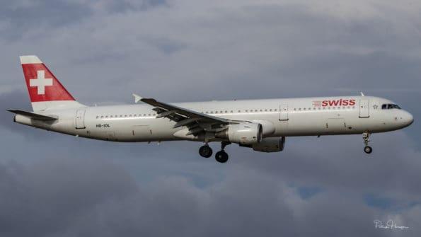 HB-IOL - A321 - Swiss