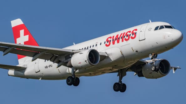 HB-IPU - A319 - Swiss
