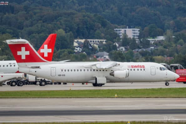 HB-IXS - Avro RJ100 - Swiss