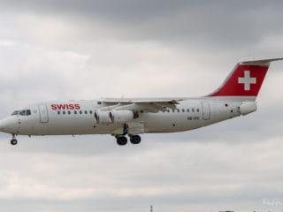 HB-IXU - BAe Avro RJ100 - Swiss