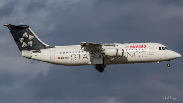 HB-IYU - Avro RJ100 - Swiss