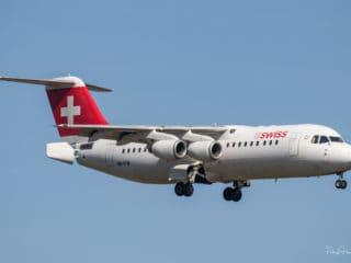HB-IYW - Avro RJ100 - Swiss