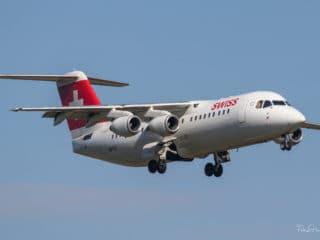HB-IYZ - Avro RJ100 - Swiss