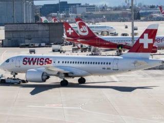 HB-JBD - Bombardier CS100 - Swiss