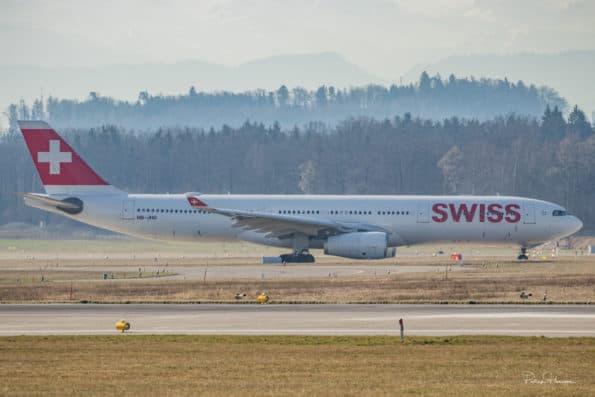 HB-JHD - A330 - Swiss