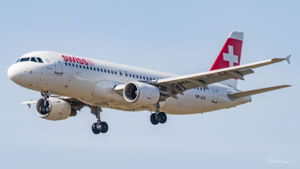 HB-JLQ - Airbus A320 - Swiss