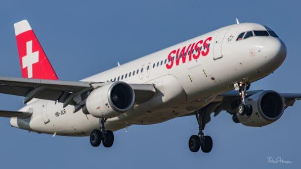 HB-JLR - A320 - Swiss