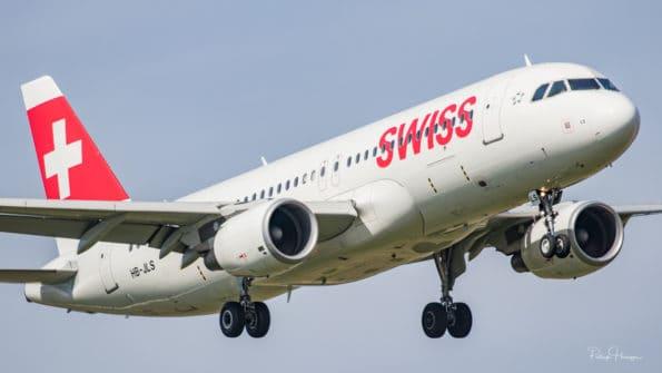 HB-JLS - Airbus A320 - Swiss