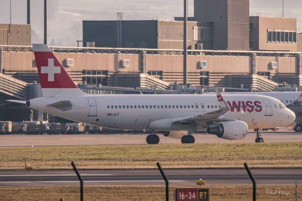 HB-JLT - A320 - Swiss