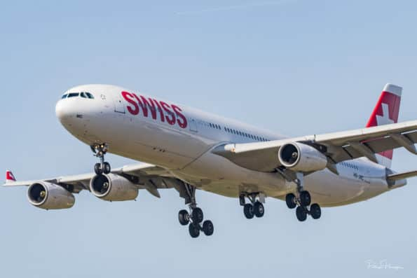 HB-JMC - A340 - Swiss