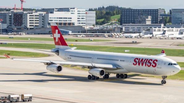 HB-JMJ - A340 - Swiss