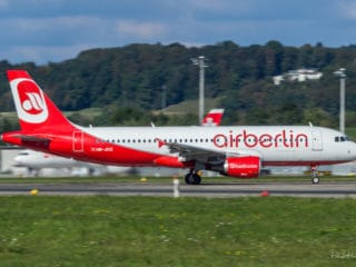 HB-JOZ - Airbus A320 - AirBerlin
