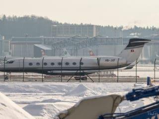 HB-JUF - Gulfstream G650 - Air Engiadina