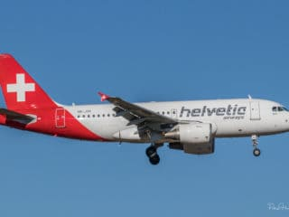 HB-JVK - A319 - Helvetic