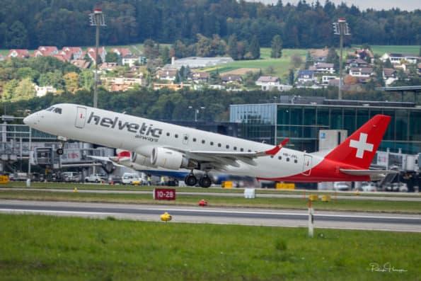 HB-JVL - Embraer ERJ-190 - Helvetic