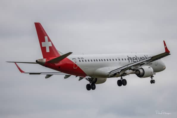 HB-JVQ - Embraer ERJ-190 - Helvetic