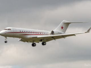 M-CCCP - Bombardier Global 5000