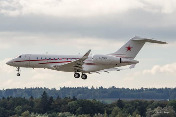 M-CCCP - Bombardier Global 5000