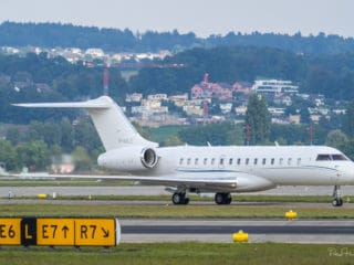 M-NALE - Bombardier Global Express - Jover Ltd