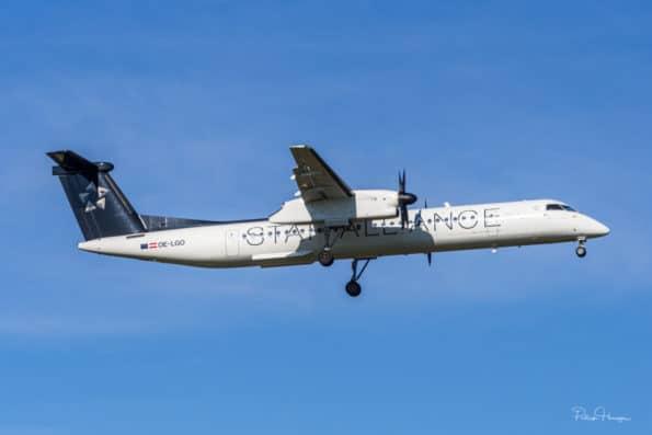 OE-LGO - De Havilland Canada DHC-8 - Austrian Airlines