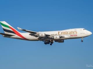 OO-THC - B747 - Emirates