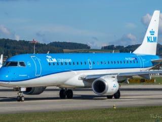PH-EZH - KLM - Embraer ERJ-190