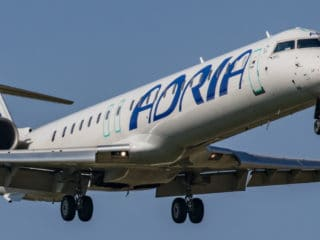 S5-AAN - Bombardier CRJ700 - Adria