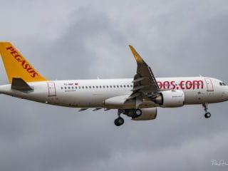 TC-NBF - Airbus A320neo - Pegasus