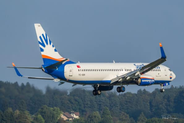 TC-SEK - Boeing 737 - SunExpress
