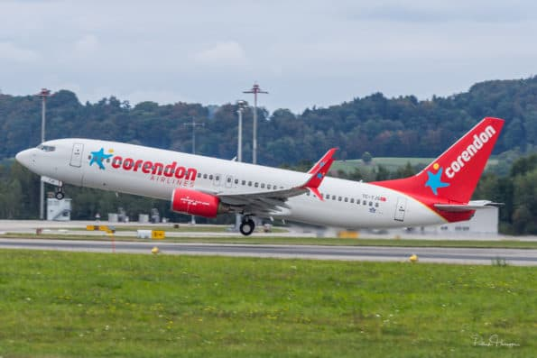 TC-TJS - B737 - Corendon