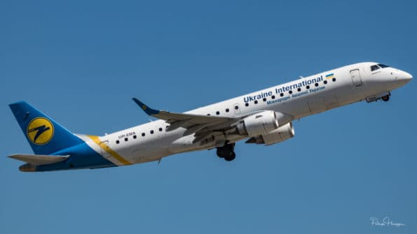 UR-EMA - Embraer ERJ-190 - Ukraine International Airlines