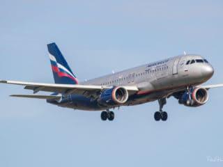 VP-BRY - Airbus A320 - Aeroflot