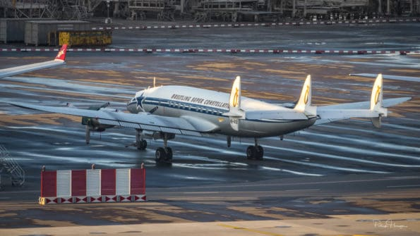 HB-RSC - Breitling Super Constellation