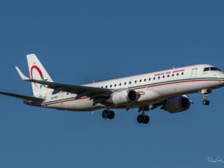 CN-RGR - ERJ-190 - Royal Air Maroc