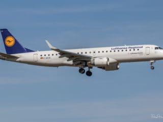 D-AECD - ERJ-190 - Lufthansa