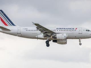 F-GRHR - A319 - Air France