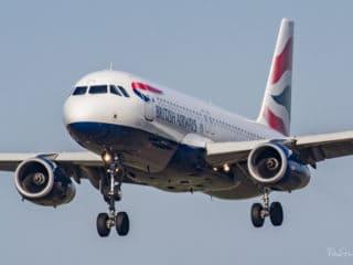 G-EUYS - A320 - British