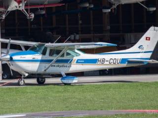 HB-CQU - Cessna Skylane