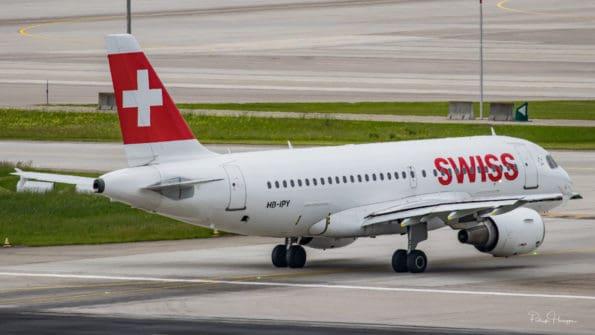 HB-IPY - A319 - Swiss